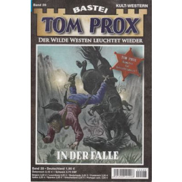 Bastei Tom Prox Nr.: 28 - Kenneth, Gordon: In der Falle Z(1-2)