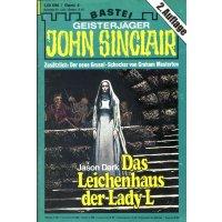 Bastei John Sinclair 2. Auflage Nr.: 4 - Dark, Jason: Das Leichenhaus der Lady L Z(1-2)