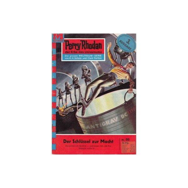 Moewig Perry Rhodan 3. Ausgabe Nr.: 86 - Scheer, K. H.: Der Schlüssel zur Macht Z(1-2)