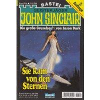 Bastei John Sinclair 2. Auflage Nr.: 604 - Dark, Jason: Sie kam von den Sternen (1. Teil) Z(1-2)
