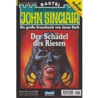 Bastei John Sinclair 2. Auflage Nr.: 674 - Dark, Jason: Der Schädel des Riesen Z(1-2)