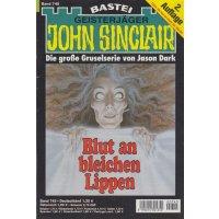 Bastei John Sinclair 2. Auflage Nr.: 745 - Dark, Jason: Blut an bleichen Lippen Z(1-2)