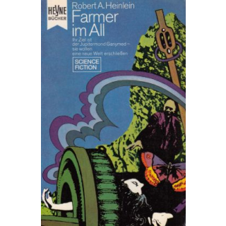 Heyne SF + Fantasy Nr.: 3184/85 - Heinlein, Robert A.: Farmer im All Z(1)