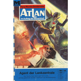 Moewig Atlan Nr.: 12 - Voltz, William: Agent der Lenkzentrale Z(1-2)