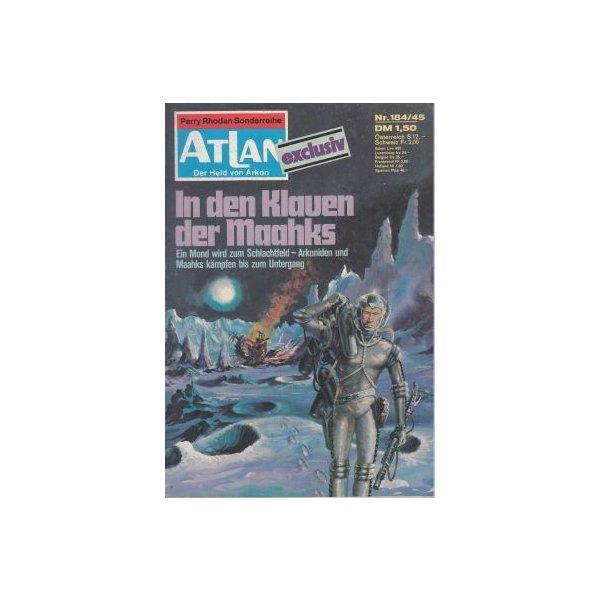 Moewig Atlan Nr.: 184 - Kneifel, Hans: In den Klauen der Maahks Z(1-2)