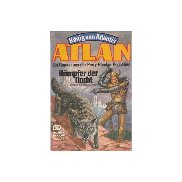 Moewig Atlan Nr.: 307 - Kneifel, Hans: Kämpfer der Nacht Z(1-2)