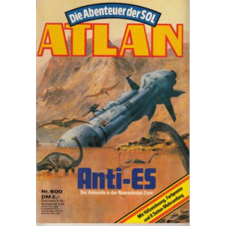 Moewig Atlan Nr.: 600 - Griese, Peter: Anti-ES Z(1-2)