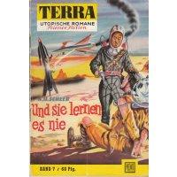 Moewig Terra Nr.: 7 - Scheer, K. H.: Und sie lernen es nie Z(1-2)