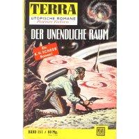 Moewig Terra Nr.: 151 - Scheer, K. H.: Der unendliche Raum Z(1-2)