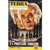 Moewig Terra Nr.: 164 - Mahr, Kurt: 2 x Professor Manstein Z(2)