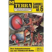 Moewig Terra Sammelband Nr.: 6 - Diverse: Terra Nr. 489,491 und 493 Z(2)