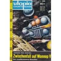 Pabel Utopia Nr.: 498 - Hoevel, Jürgen Ten: Zwischenfall auf Wannop V Z(1-2)