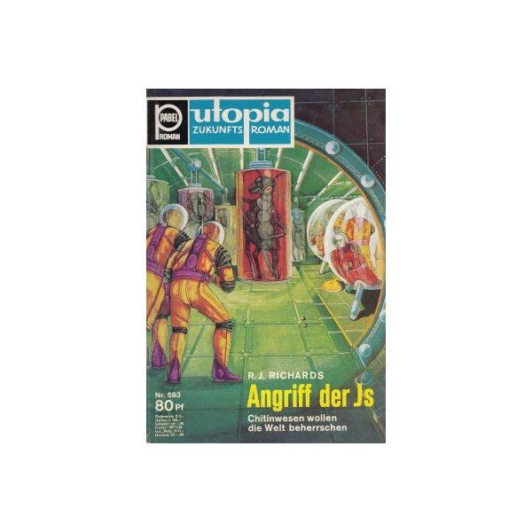 Pabel Utopia Nr.: 593 - Richards, R. J.: Angriff der Js Z(1-2)