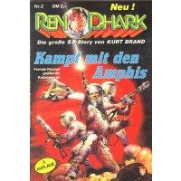Kelter Ren Dhark 3. Aufl. Nr.: 2 - Francis, H. G.: Der Kampf mit den Amphis Z(1-2)