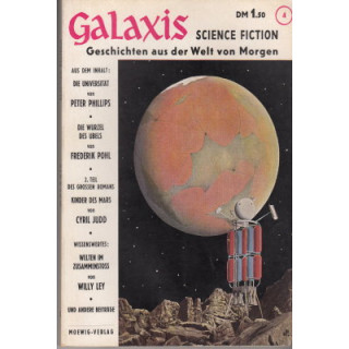 Moewig Galaxis Nr.: 4 - Diverse: Science-Fiction Magazin Z(2)