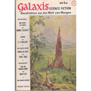 Moewig Galaxis Nr.: 5 - Diverse: Science-Fiction Magazin Z(2)