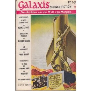Moewig Galaxis Nr.: 11 - Diverse: Science-Fiction Magazin Z(2)