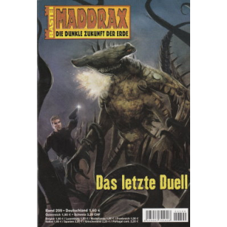 Bastei Maddrax Nr.: 299 - Zybell, Jo: Das letzte Duell Z(1-2)