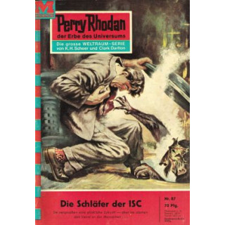 Moewig Perry Rhodan Nr.: 87 - Voltz, William: Der Schläfer der ISC Z(1-2)