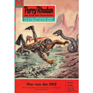 Moewig Perry Rhodan Nr.: 161 - Voltz, William: Vier von der USO Z(1-2)