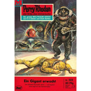 Moewig Perry Rhodan Nr.: 322 - Voltz, William: Ein Gigant erwacht Z(1)