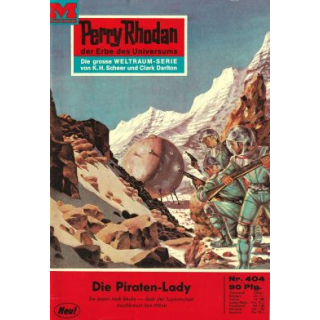 Moewig Perry Rhodan Nr.: 404 - Voltz, William: Die Piraten-Lady Z(1-2)