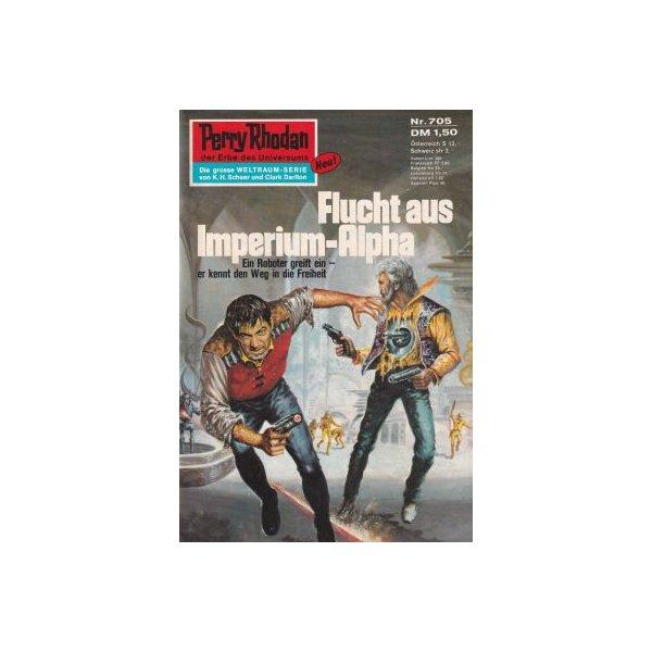 Moewig Perry Rhodan Nr.: 705 - Voltz, William: Flucht aus der Imperium-Alpha Z(1-2)