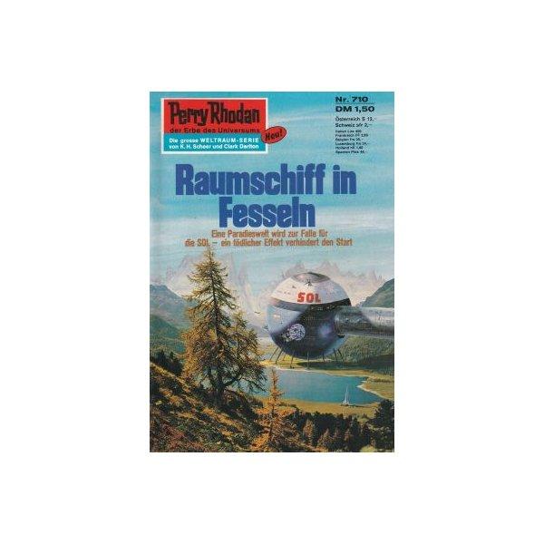 Moewig Perry Rhodan Nr.: 710 - Kneifel, Hans: Raumschiff in Fesseln Z(1-2)