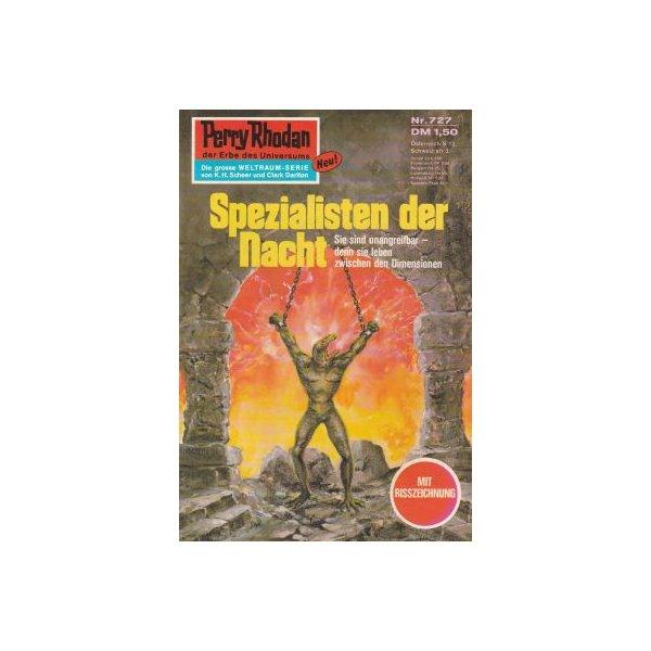 Moewig Perry Rhodan Nr.: 727 - Ewers, H. G.: Spezialisten der Nacht Z(1-2)