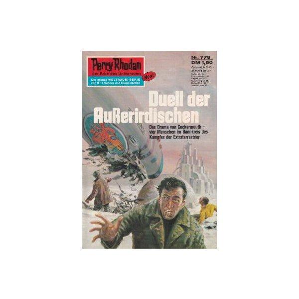 Moewig Perry Rhodan Nr.: 778 - Voltz, William: Duell der Außerirdischen Z(1-2)