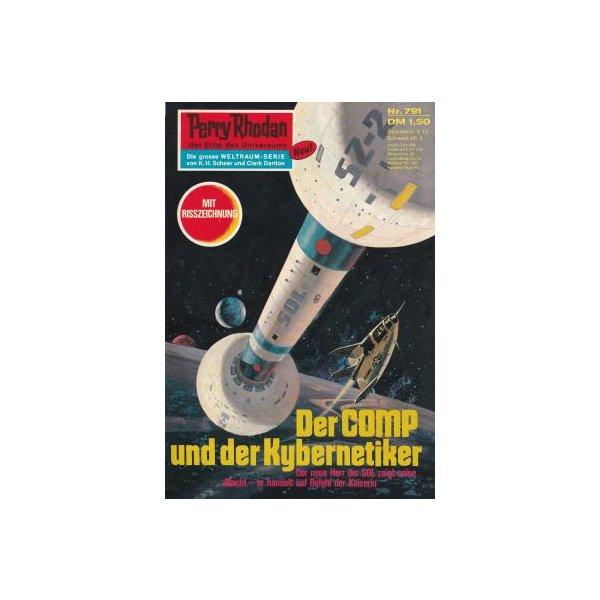 Moewig Perry Rhodan Nr.: 791 - Mahr, Kurt: Der COMP und der Kybernetiker Z(1-2)