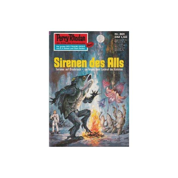 Moewig Perry Rhodan Nr.: 801 - Voltz, William: Sirenen des Alls Z(1-2)