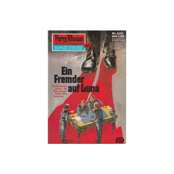 Moewig Perry Rhodan Nr.: 822 - Mahr, Kurt: Ein Fremder auf Luna Z(1-2)