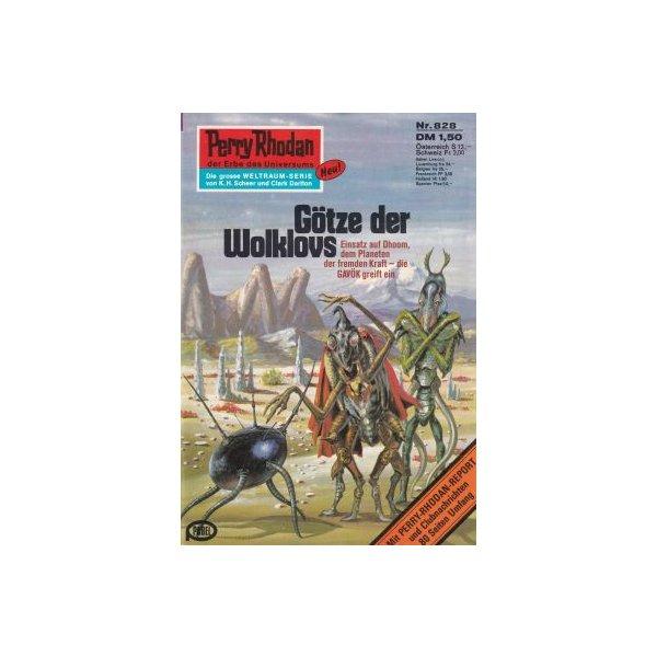 Moewig Perry Rhodan Nr.: 828 - Mahr, Kurt: Götze der Wolklovs Z(1-2)