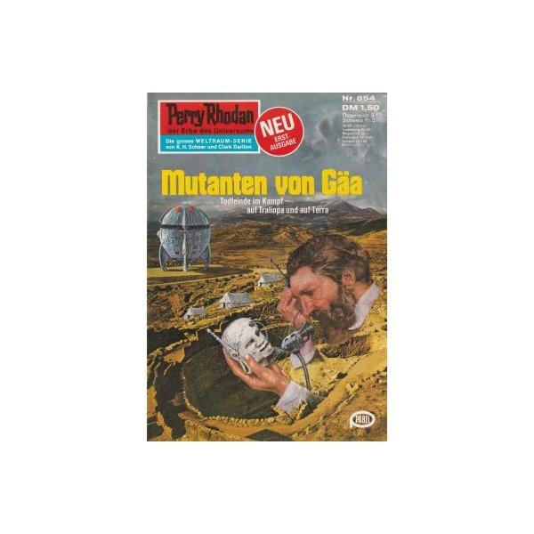 Moewig Perry Rhodan Nr.: 854 - Francis, H. G.: Mutanten von Gäa Z(1-2)
