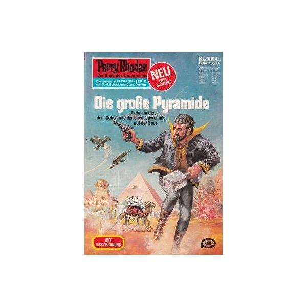 Moewig Perry Rhodan Nr.: 883 - Kneifel, Hans: Die große Pyramide Z(1-2)