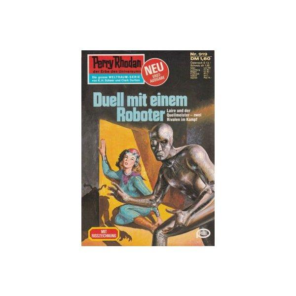 Moewig Perry Rhodan Nr.: 919 - Francis, H. G.: Duell mit einem Roboter Z(1-2)