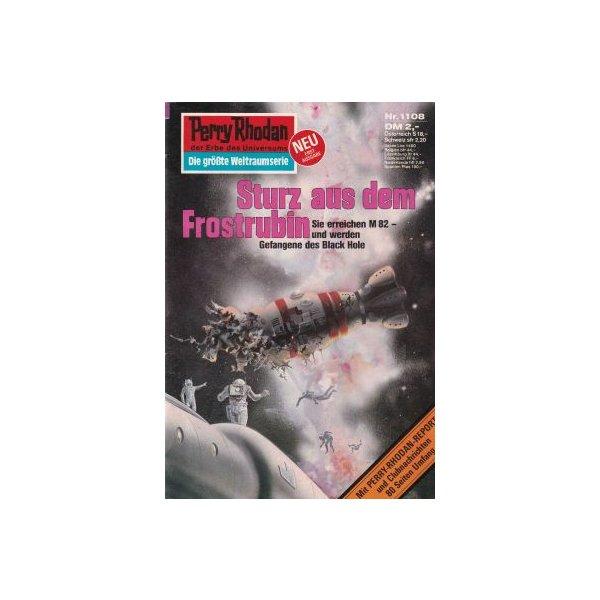 Moewig Perry Rhodan Nr.: 1108 - Voltz, William: Sturz aus dem Frostrubin Z(1-2)