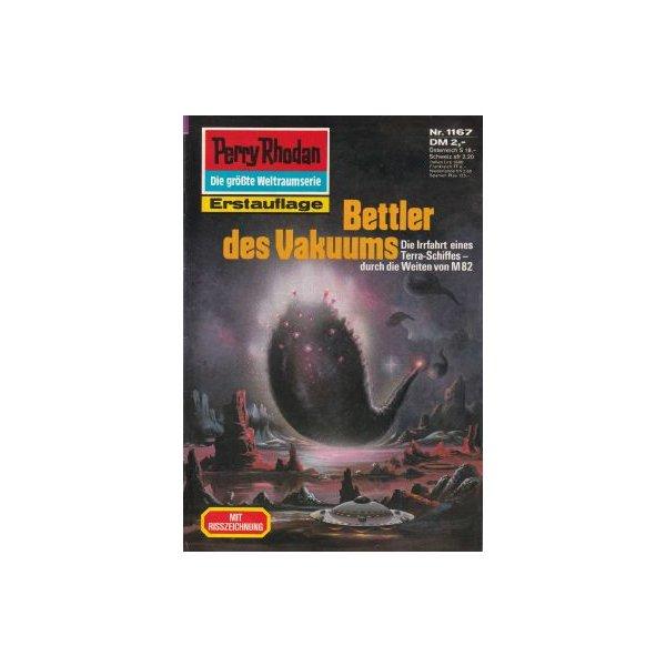 Moewig Perry Rhodan Nr.: 1167 - Sydow, Marianne: Bettler des Vakuums Z(1-2)