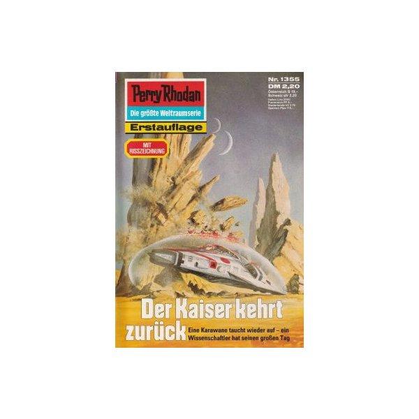 Moewig Perry Rhodan Nr.: 1355 - Ellmer, Arndt: Der Kaiser kehrt zurück Z(1-2)