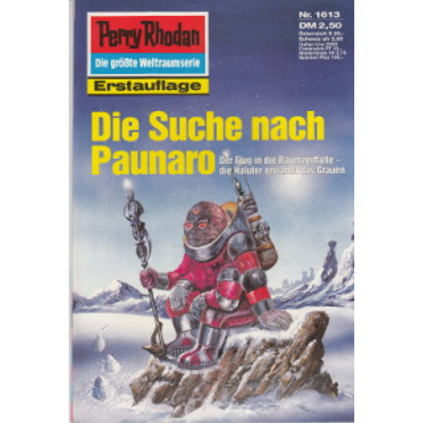 Moewig Perry Rhodan Nr.: 1613 - Francis, H. G.: Die Suche nach Paunaro Z(1-2)