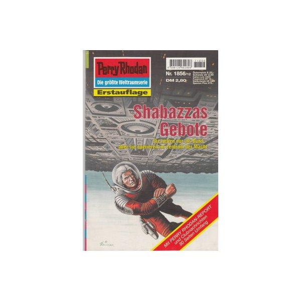 Moewig Perry Rhodan Nr.: 1856 - Ellmer, Arndt: Shabazzas Gebote Z(1-2)