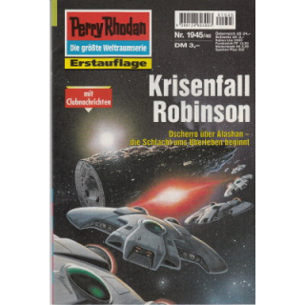 Moewig Perry Rhodan Nr.: 1945 - Feldhoff, Robert: Krisenfall Robinson Z(1-2)