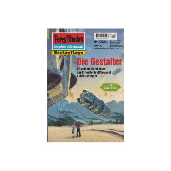 Moewig Perry Rhodan Nr.: 1963 - Francis, H. G.: Die Gestalter Z(1-2)