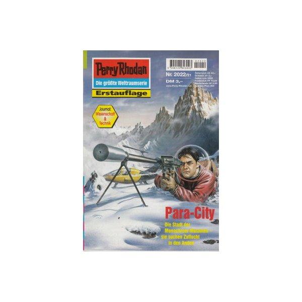 Moewig Perry Rhodan Nr.: 2022 - Francis, H. G.: Para-City Z(1-2)