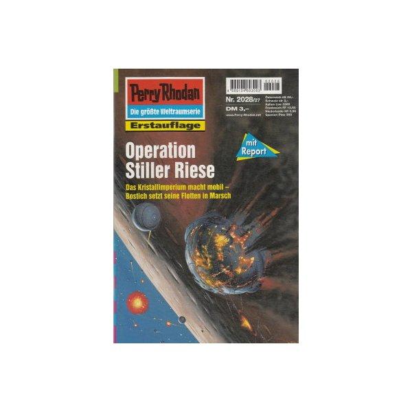 Moewig Perry Rhodan Nr.: 2028 - Castor, Rainer: Operation Stiller Riese Z(1-2)