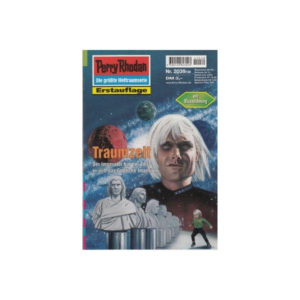 Moewig Perry Rhodan Nr.: 2039 - Castor, Rainer: Traumzeit Z(1-2)