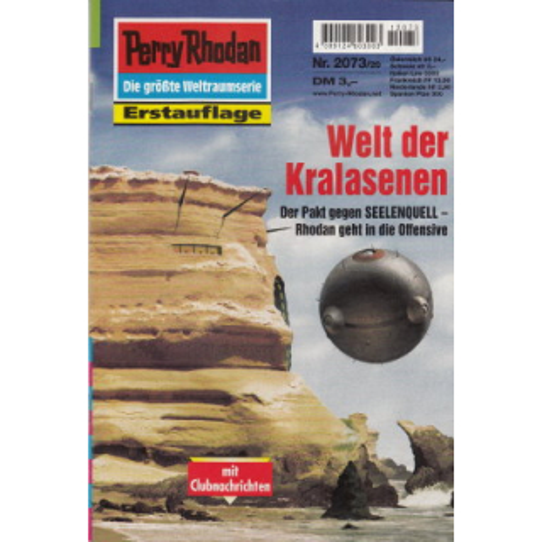 Moewig Perry Rhodan Nr.: 2073 - Vlcek, Ernst: Welt der Kralasenen Z(1-2)