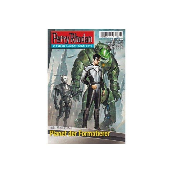 Moewig Perry Rhodan Nr.: 2619 - Vandemaan, Wim: Planet der Formatierer Z(1-2)