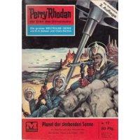 Moewig Perry Rhodan 2. Auflage Nr.: 17 - Mahr, Kurt: Planet der sterbenden Sonne Z(2)